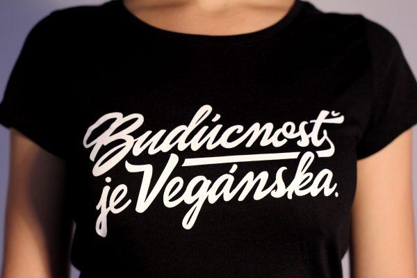 Dámske tričko - Budúcnosť je vegánska