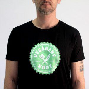 Pánske tričko - Vegánske hody pamätnícke čierne