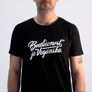 Pánske tričko - Budúcnosť je vegánska
