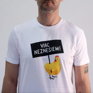 Pánske tričko - Viac neznesiem! - biele